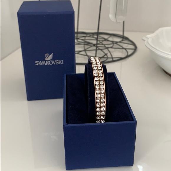 Swarovski Jewelry - Swarovski | Rose Gold Bangle